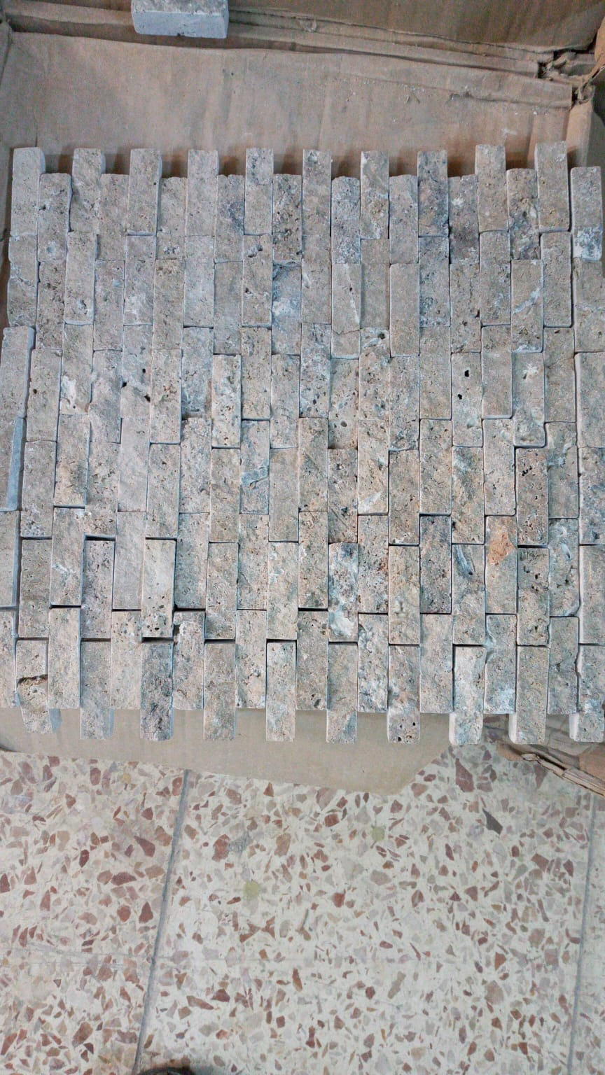Noçe Traverten Patlatma Mozaik Mini