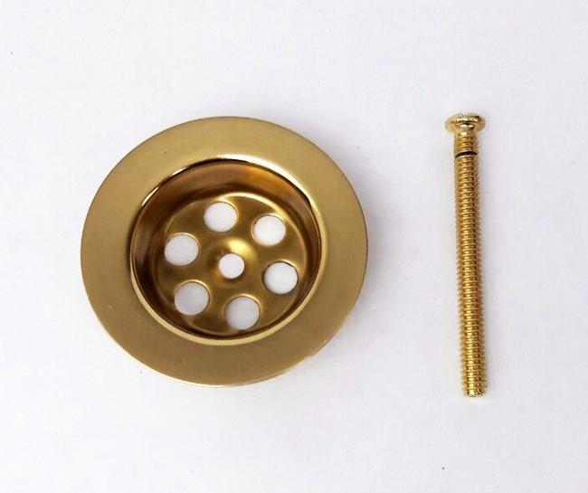 Altın Kaplama Lavabo Süzgeci