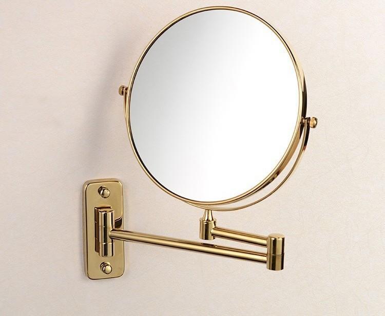 Altın Kaplama Duvar Aynası
