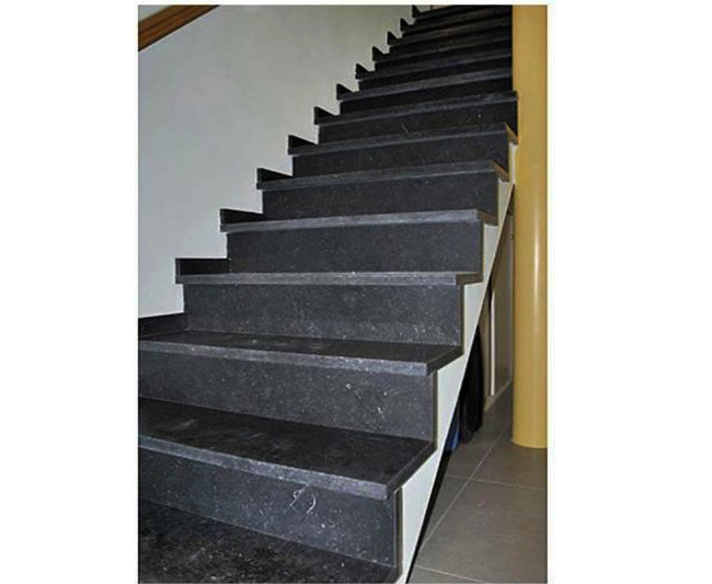 Bazalt Merdiven Basamak Rıht Dahil - Patinatolu