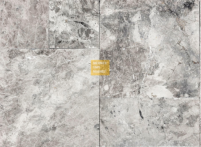 Tundra Gri Set - 1,2cm Kalınlık