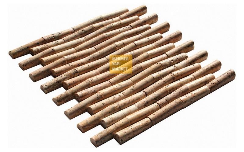 Scabas Traverten Bambu