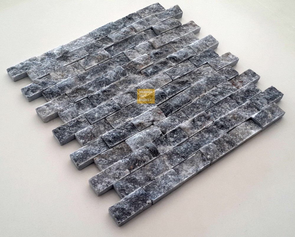 Kütahya Siyah Patlatma Mozaik